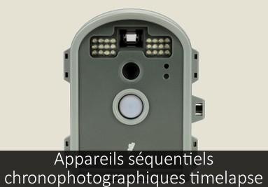 Appareils séquentiels chronophotographique time laps