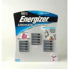 Energizer® Ultimate Lithium™ batteries - 12 AA