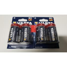 Pack de 4 piles D rechargeables ENERGIZER